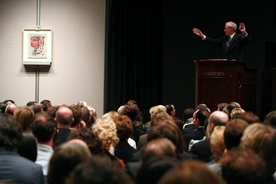 Aukcja w Christie's obrazu Andy Warhola