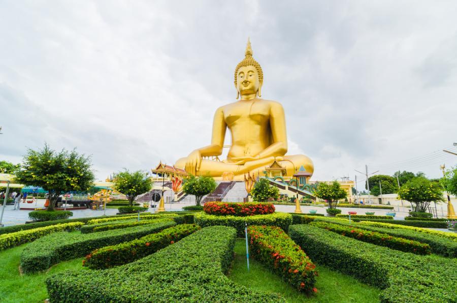Posąg Wielkiego Buddy